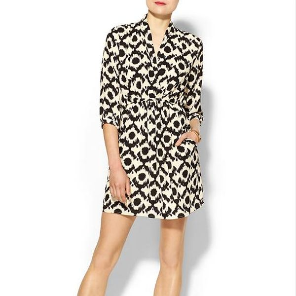 Collective Concepts Printed Wrap Dress