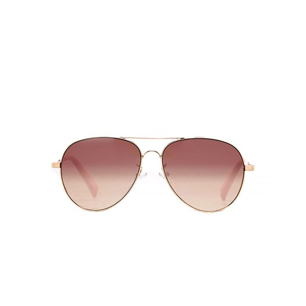 American Eagle Rose Gold Aviator Sunglasses
