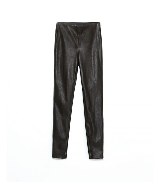 Zara Faux Leather Leggings ($60)