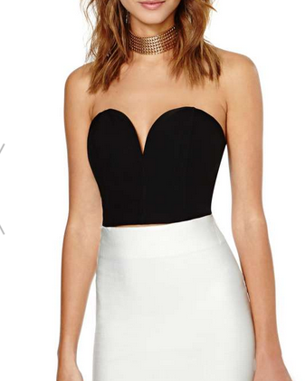 Nasty Gal All Heart Bustier