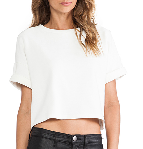 Dolan Crewneck Crop Top