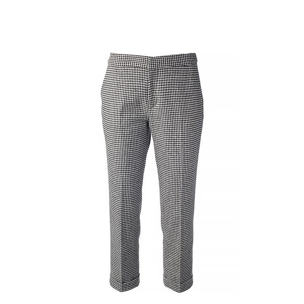 MSGM Houndstooth Cropped Trouser