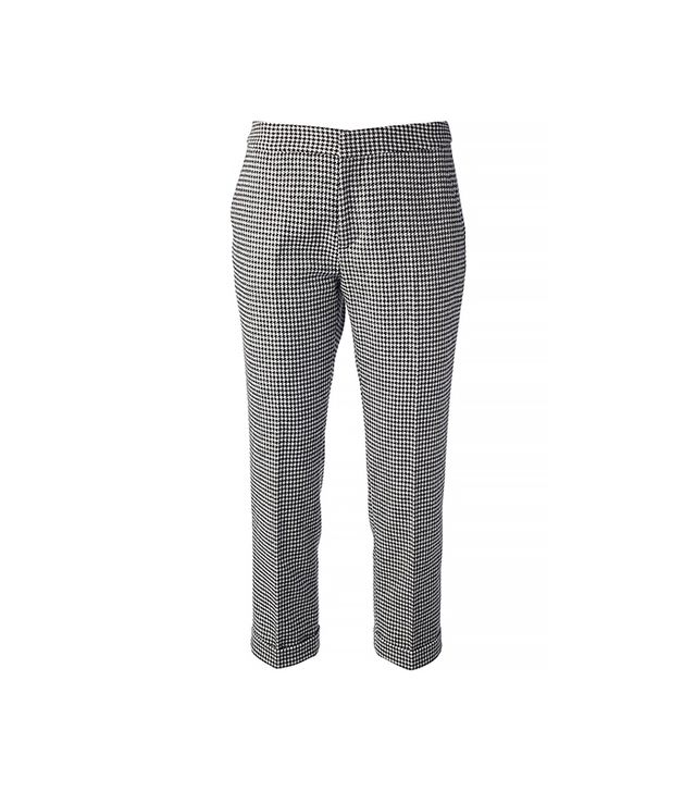 MSGM Houndstooth Cropped Trouser ($75)