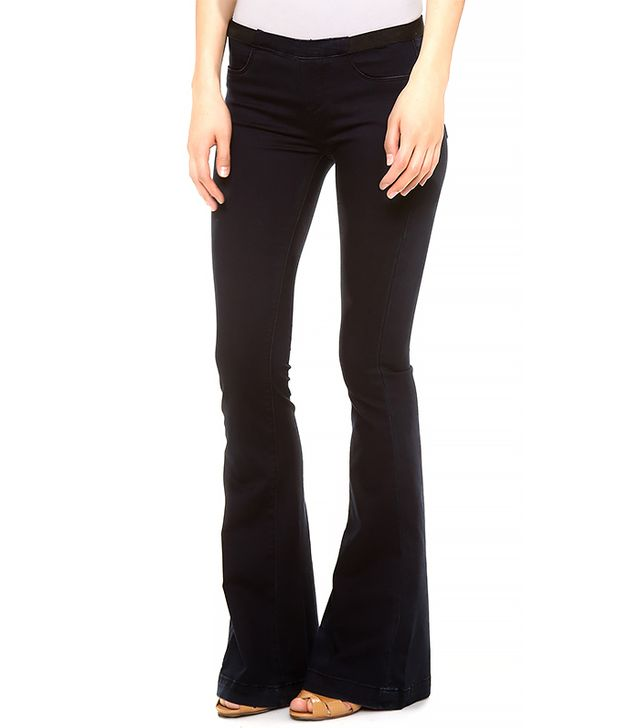 Blank Denim Pull On Flare Jeans ($88)