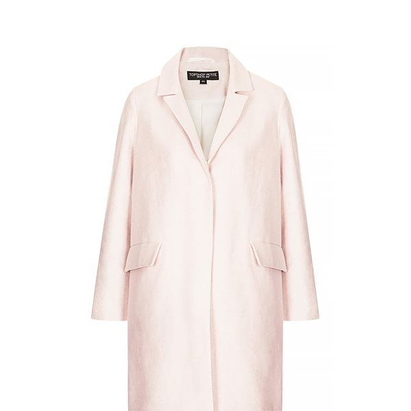 Topshop Textured Swing Coat