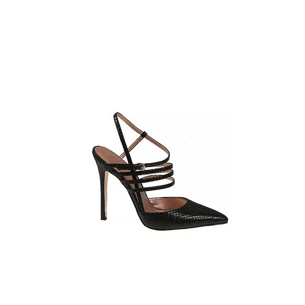 Belle By Badgley Mischka Val Snake Printed Pumps
