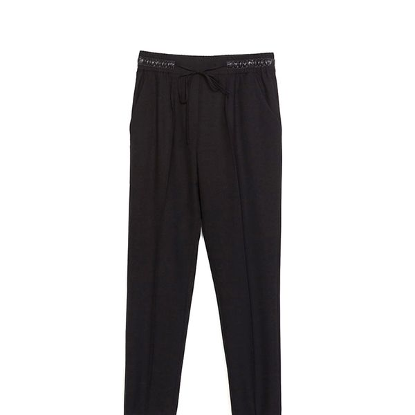 Zara Trousers with Elastic Waistband