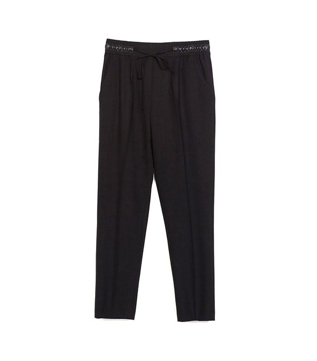 Zara Trousers with Elastic Waistband ($50)