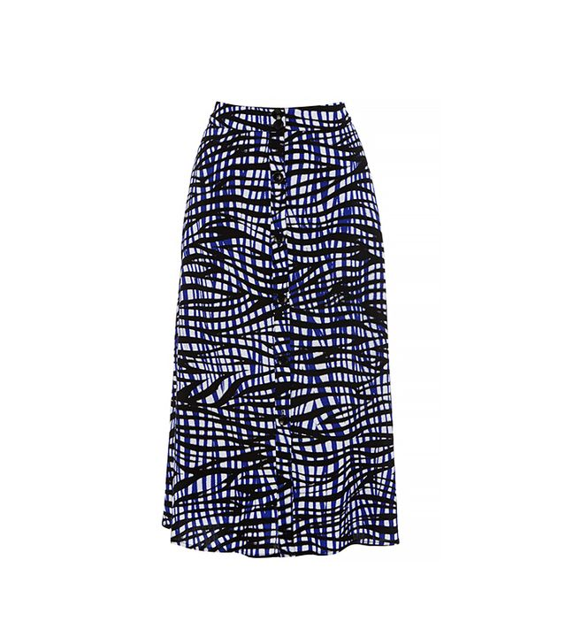 Warehouse Bamako Button Through Midi Skirt ($57)