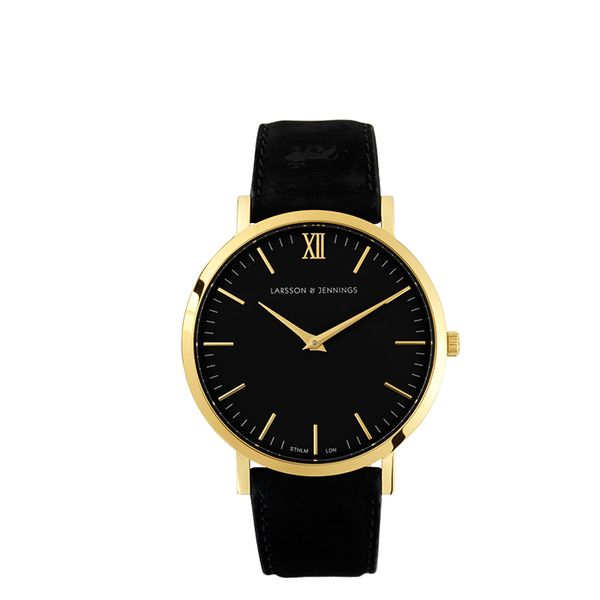 Larsson & Jennings Black Lader Watch