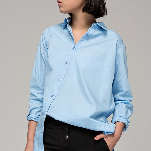 Front Row Shop Asymmetrical Shirt