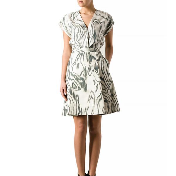 3.1 Phillip Lim 3.1 Phillip Lim Stain Print A-Line Skirt