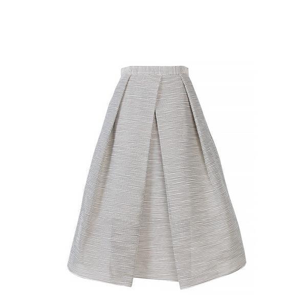 Tibi Tibi Raffia Organza Full Skirt