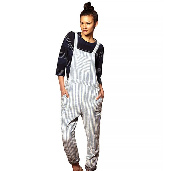 Ace & JIg Striped Overalls
