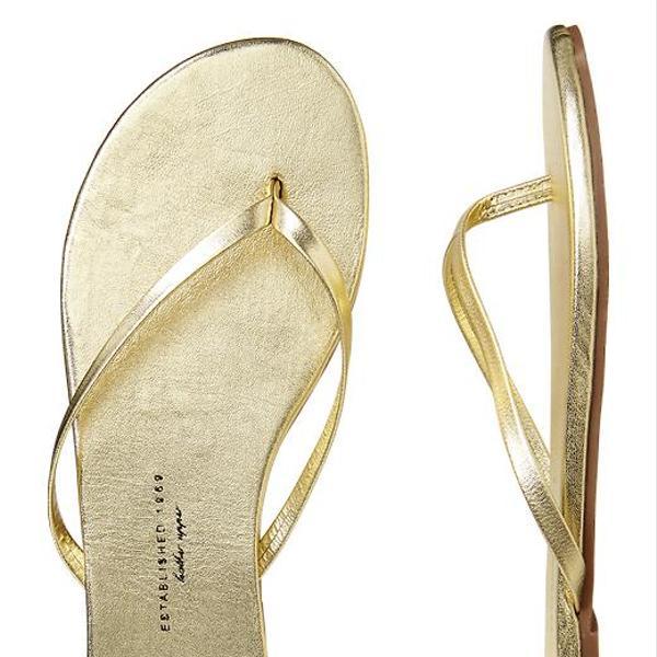 Gap Leather Flip Flops