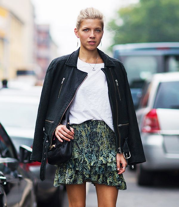 Our New Favorite Skirt Silhouette For Spring: The Ruffled Mini