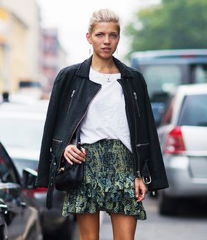 Our New Favourite Skirt Silhouette For Spring: The Ruffled Mini