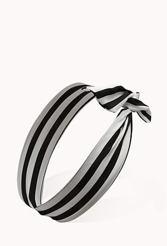 Forever 21 Mod Striped Wire Headwrap