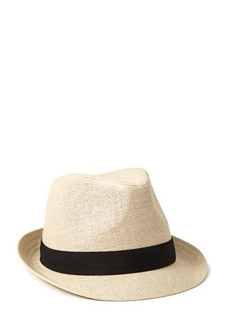 Forever 21 Classic Straw Fedora