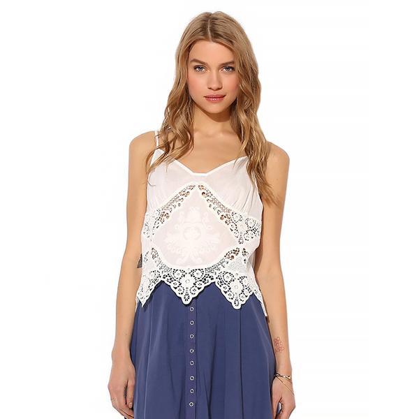 Kimchi Blue Knit Snap-Front Skater Skirt