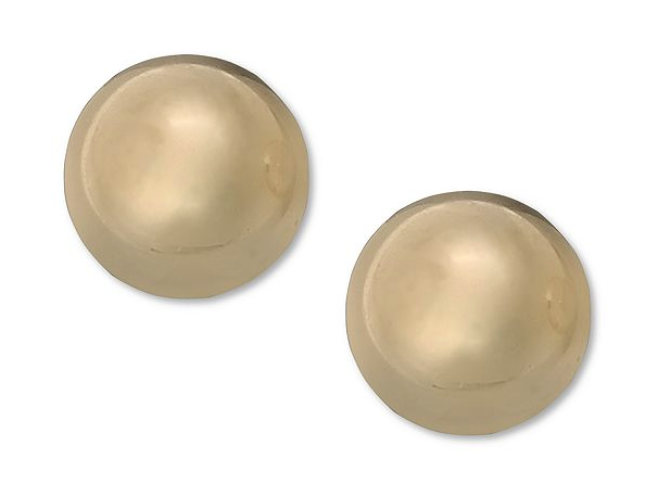 Macy's Children's 14K Gold Ball Stud Earrings