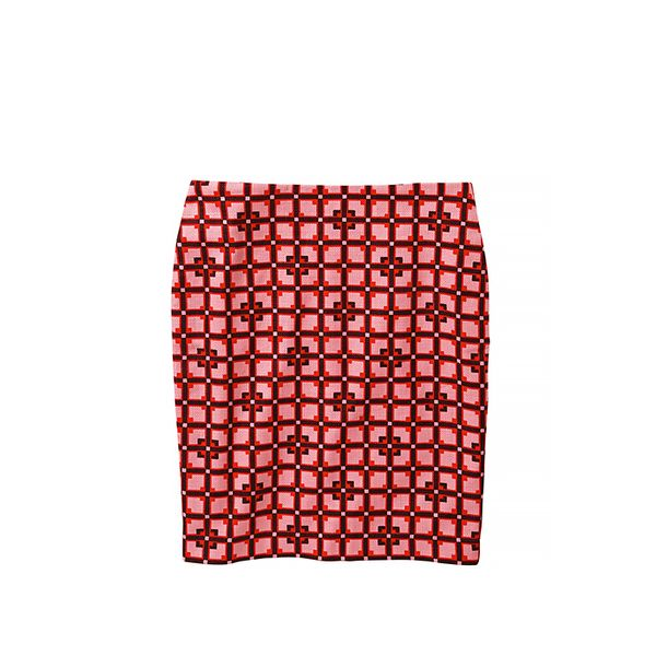 Joe Fresh Bold Print Pencil Skirt