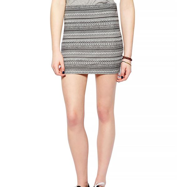 Pull&Bear Aztec Mini Skirt