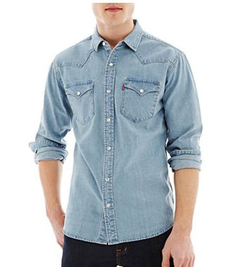Levi's Long-Sleeve Woven Shirt