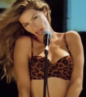 Bikini-Clad Gisele Bundchen Sings In New H&M Music Video