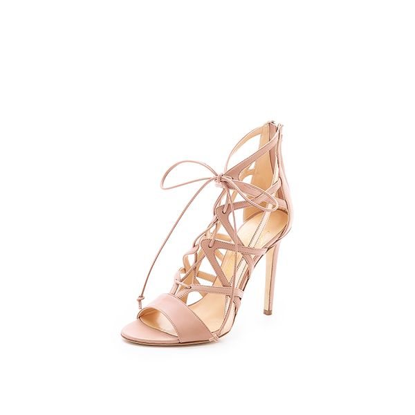 Alejandro Ingelmo Boomerang Lace-Up Sandals