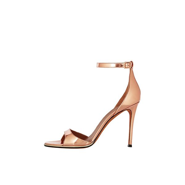Givenchy Mirrored-Leather Sandals