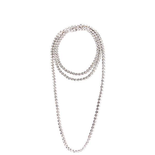 Tom Binns Long Crystal Necklace