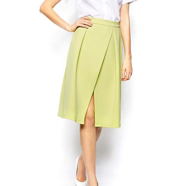ASOS Crossover Midi Skirt