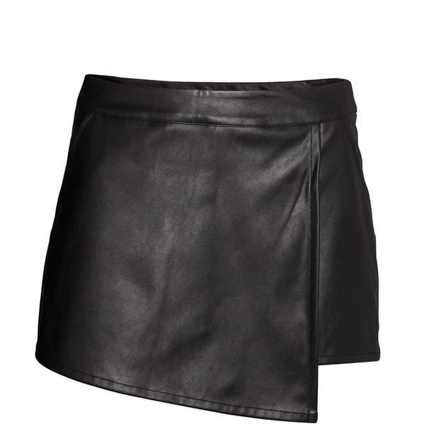 H&M Faux Leather Skort