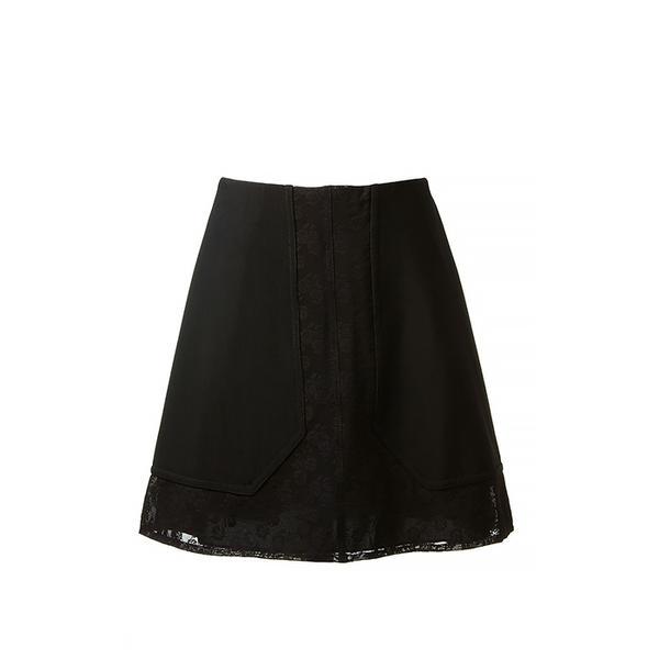 Carven Carven Floral Lace Skirt