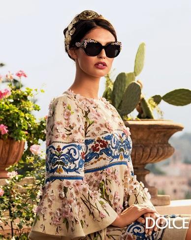 Dolce & Gabbana S/S 2014 Eyewear Campaign
