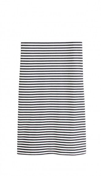 Tibi Racetrack Stripe Pencil Skirt