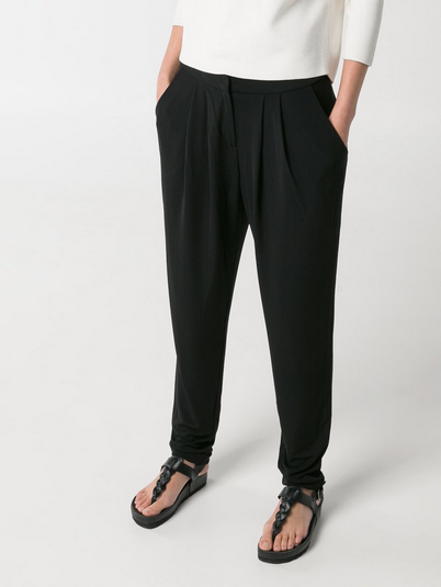 Mango Pleat Baggy Trousers