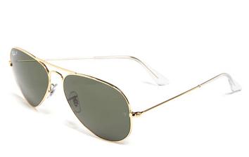 Ray-Ban Original Aviator 58mm Polarised Sunglasses