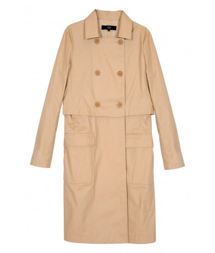 Tibi Seal Trench Coat