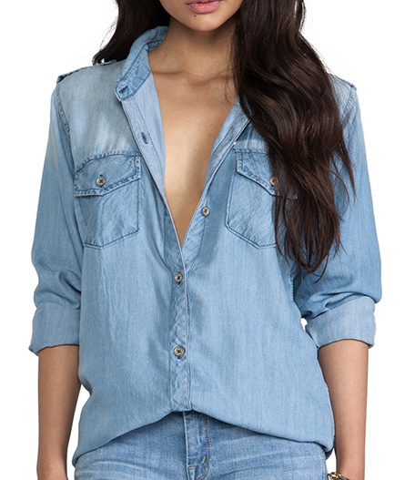 Rails Joey Oversized Denim Shirt Jacket