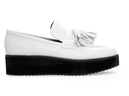 Mango Tassel Platform Loafers