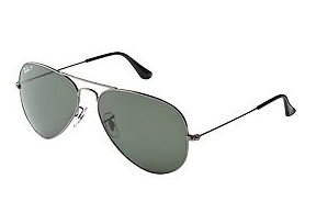 Ray-Ban Large Metal Polarized Aviators