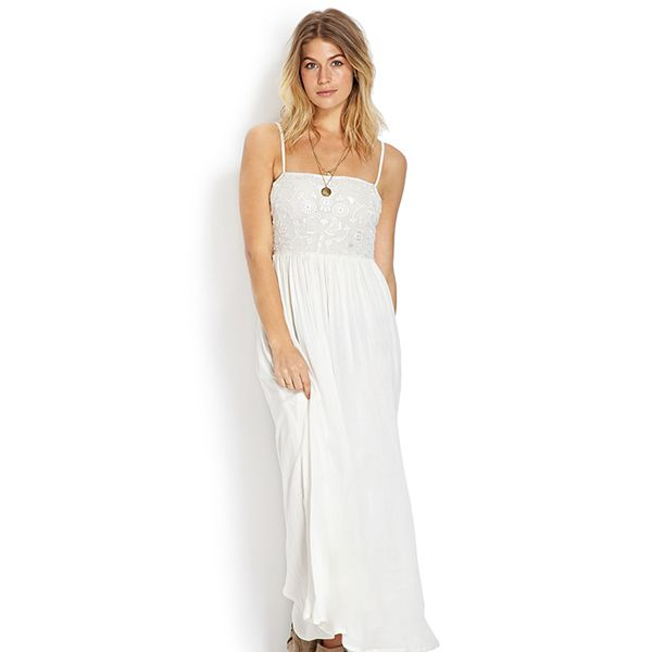 Forever 21 Free Spirit Floral Maxi Dress