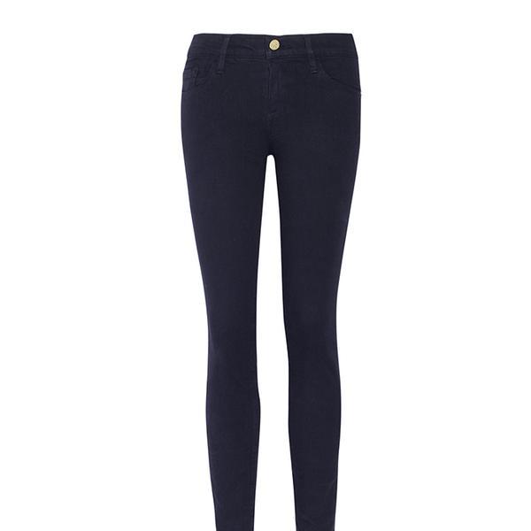 Frame Denim de Jeanne Crop Mid-Rise Skinny Jeans