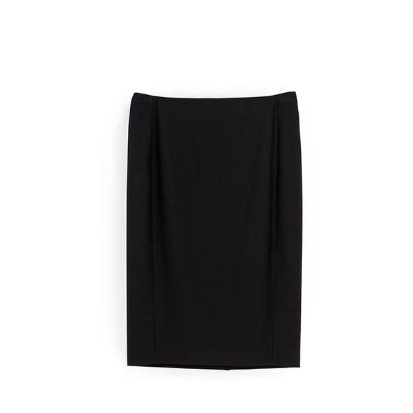 Zara Pencil Skirt with Front Seams