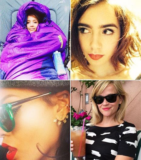 22 Must-See Instagrams: Plus Rosie Huntington-Whiteley's BDay Cone Bra