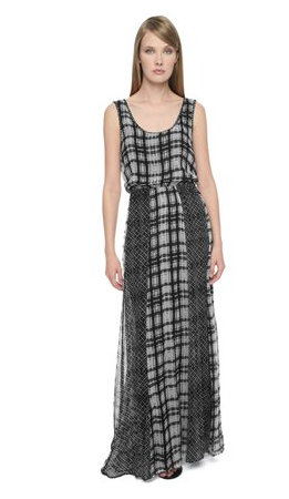 Ella Moss Paige Plaid Maxi Dress