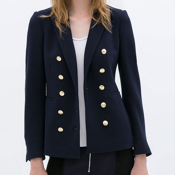 Zara Double Breasted Jacket