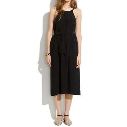 Madewell Silk Gather Dress